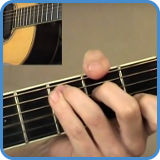 Beginner guitar exercises and basic chords, chord progression and rhythms.