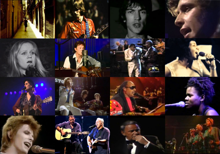 Lyrics Collage